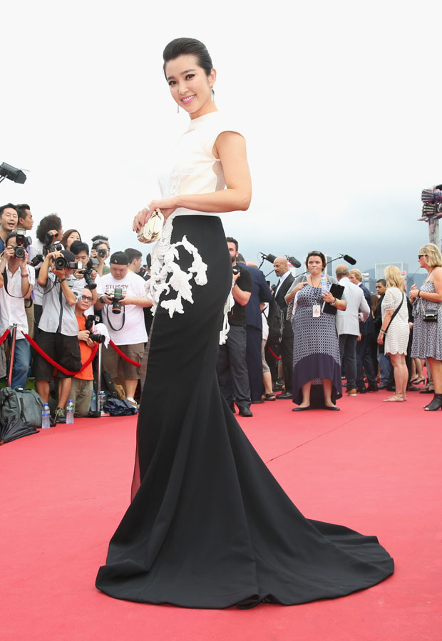 Li Bingbing in Stéphane Rolland Couture