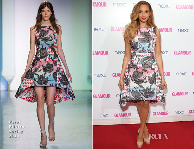 Alesha Dixon In Peter Pilotto - Glamour Women Of The Year Awards
