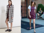 Alexa Chung In Carven - Out In New York City