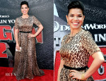 America Ferrera In Dolce & Gabbana - 'How To Train Your Dragon 2' LA Premiere