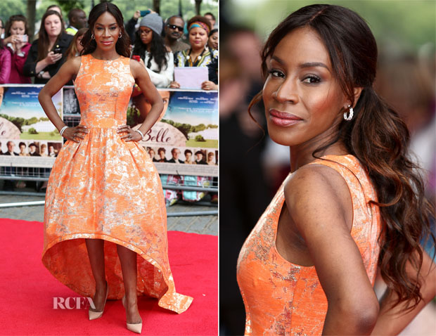 Amma Asante In Jacques Azagury - 'Belle' London Premiere