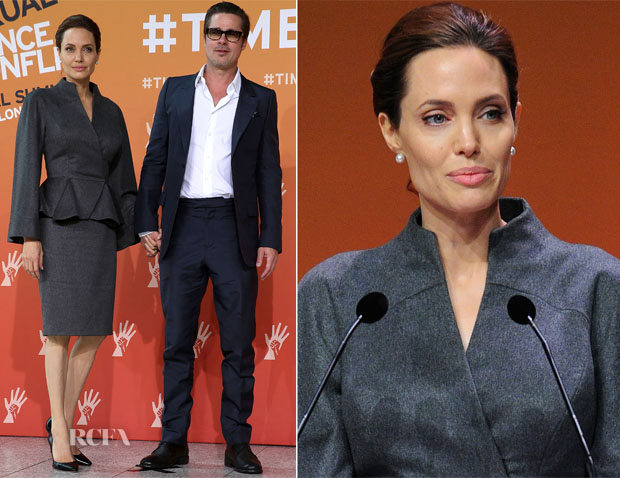 ... Versace – Global Summit To End Sexual Violence In Conflict – Day 4: http://www.redcarpet-fashionawards.com/2014/06/13/angelina-jolie-atelier-versace-global-summit-end-sexual-violence-conflict-day-4/