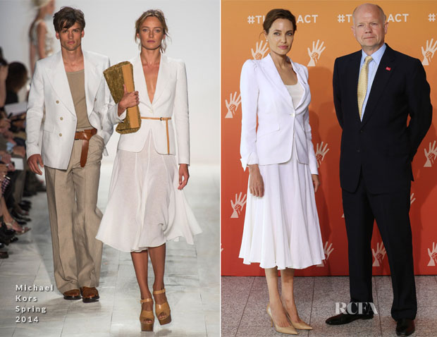 Angelina Jolie In Michael Kors - Global Summit to End Sexual Violence in Conflict