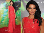 Angie Harmon In Giambattista Valli  - 2014 Fragrance Foundation Awards