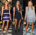 Anna Dello Russo Front Row @ Milan Fashion Week Mens Spring 2015