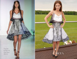 Anna Friel In Peter Pilotto - Audi Polo Challenge
