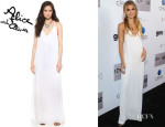 AnnaLynne McCord's Alice + Olivia 'Dove Relaxed' Maxi Dress