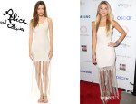 AnnaLynne McCord's Alice + Olivia 'Lena' Crochet Dress