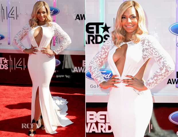 Ashanti In Michael Costello - 2014 BET Awards