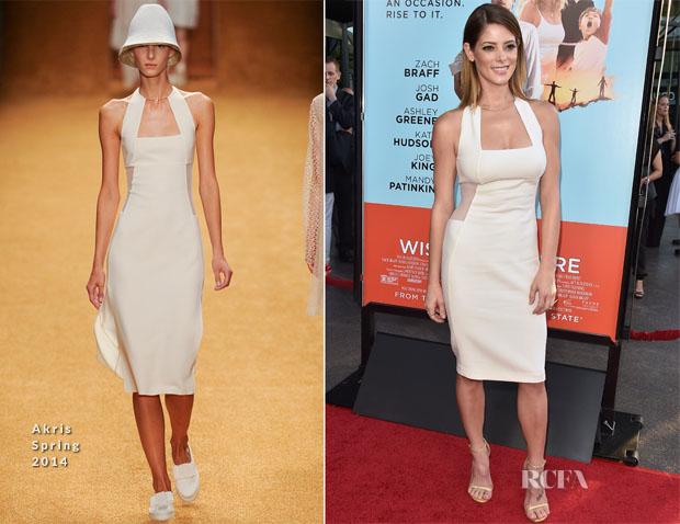 Ashley Greene In Akris - 'Wish I Was Here' LA Premiere