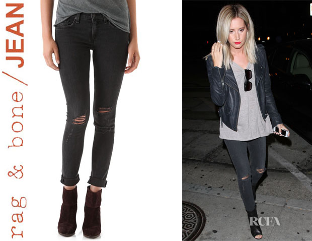 Ashley Tisdale's Rag & BoneJEAN 'The Skinny' Jeans