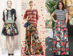 Bellamy Young In Alice + Olivia - 'Scandal' Monte Carlo Television Festival Photocall