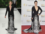 Bellamy Young In Naeem Khan - 54th Monte Carlo Television Festival Closing Ceremony