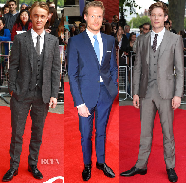 'Belle' London Premiere Menswear Roundup