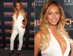 Beyonce Knowles In Gucci - Chime for Change One-Year Anniversary Event