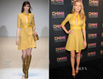 Blake Lively In Gucci - Chime for Change One-Year Anniversary Event