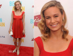 Brie Larson In Prada - 'Begin Again' New York Premiere