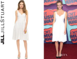 Brooklyn Decker's Jill Jill 'Stuart' Sweetheart Neck Dress