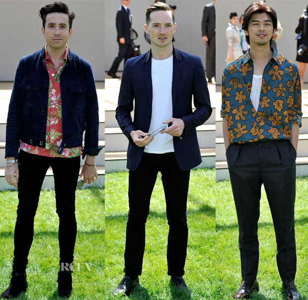 Burberry Prorsum Spring 2015 Mens Front Row3