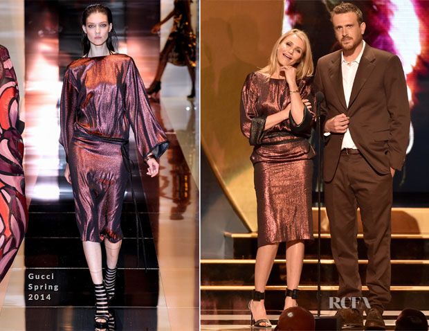 Cameron Diaz In Gucci - Spike TV's 'Guys Choice 2014'