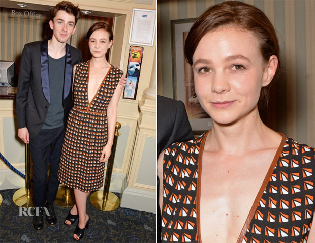 Carey Mulligan In Prada - 'Skylight' Press Night Performance