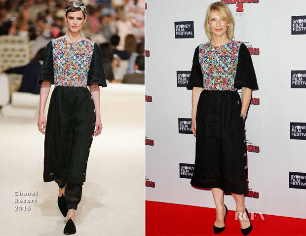 Cate Blanchett In Chanel - 'How To Train Your Dragon 2' Sydney Premiere