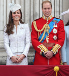 Catherine, Duchess of Cambridge In Alexander McQueen - Queen Elizabeth II's Official Birthday