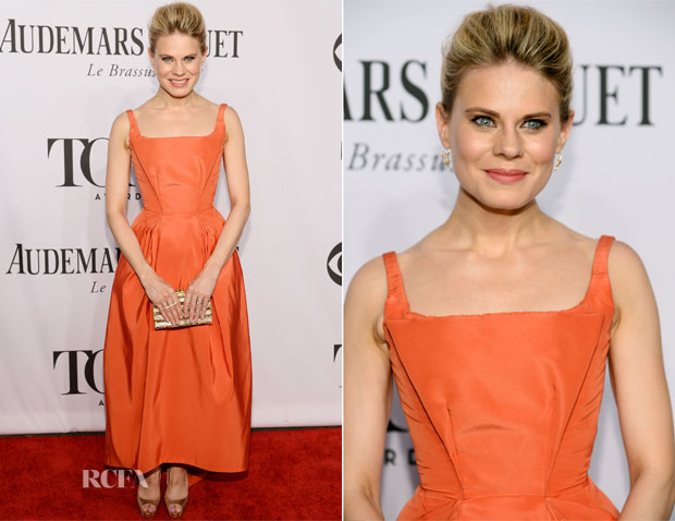 Celia Keenan-Bolger In Zac Posen - 2014 Tony Awards