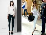 Cheryl Cole In J Brand - Capital FM and BBC Radio One