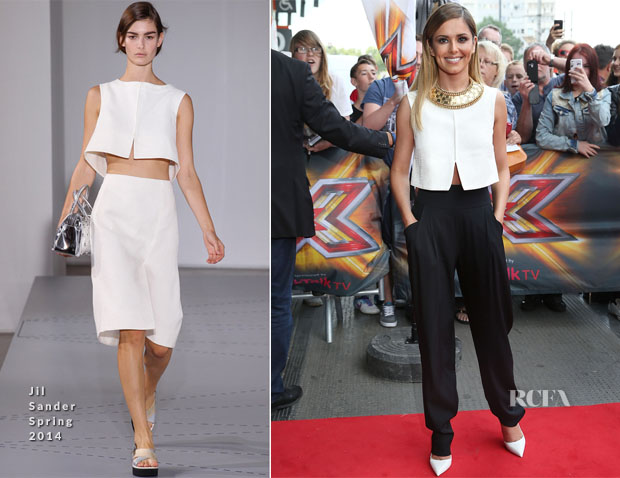 Cheryl Cole In Jil Sander &  Temperley London - X Factor London Auditions