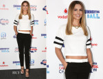 Cheryl Cole In Karl Lagerfeld & Joseph - Capital Summertime Ball