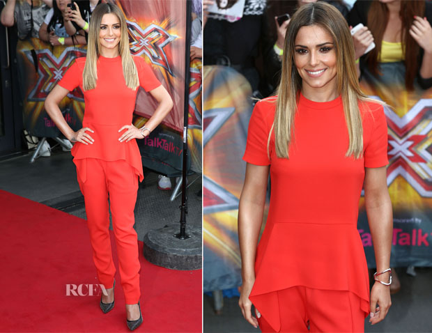 Cheryl Cole In Paul & Joe - X Factor London Auditions