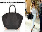 Cheryl Cole's Alexander Wang 'Emile' Textured-Leather Tote