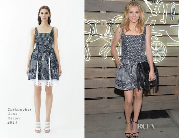 Chloe Moretz In Christopher Kane R14 - 2014 Summer Party presented by Coach and Friends Of The Highline