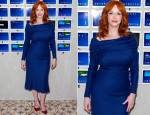 Christina Hendricks In Zac Posen - Variety Studio