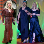 Courtney Love In Vivienne Westwood - AIDS Solidarity Gala & Life Ball 2014
