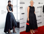 Crown Princess Mette-Marit of Norway In H&M Conscious Collection - amfAR Inspiration Gala New York 2014