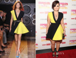 Demi Lovato In Fausto Puglisi - Cosmopolitan Fun Fearless Latina Awards