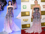 Diane Kruger In Elie Saab Couture - 2014 Critics' Choice Television Awards