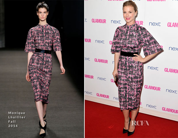 Emily Van Camp In Monique Lhuillier - Glamour Women Of The Year Awards