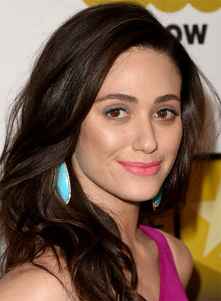Emmy Rossum Critics Choice Makeup