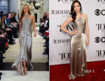 Emmy Rossum In Ralph Lauren Collection - 2014 Tony Awards
