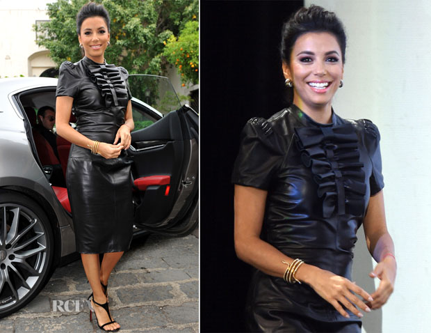 Eva Longoria In Dsquared² - 60th Taormina Film Fest
