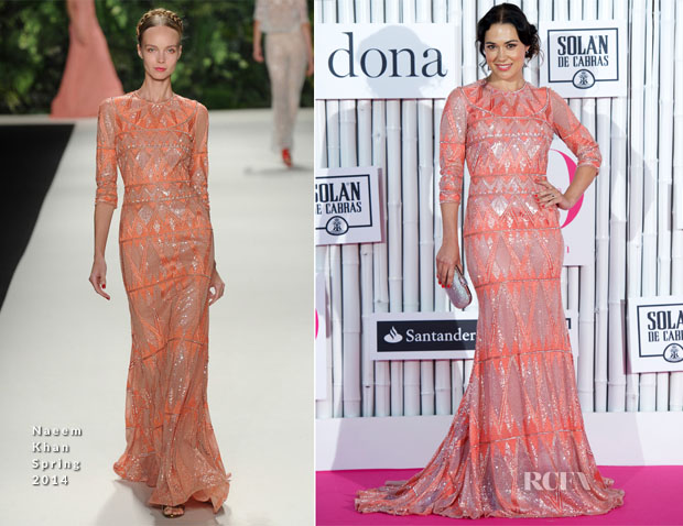 Eva Marciel In Naeem Khan - Yo Dona Awards