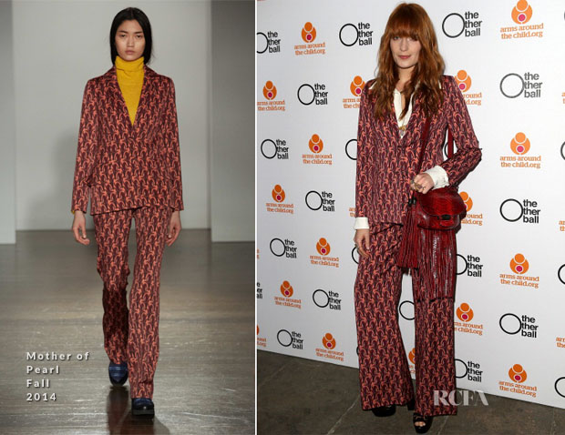 Florence Welch In Mother Of Pearl - The Other Ball