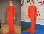 Greta Gerwig In Zac Posen - 2014 CFDA Fashion Awards