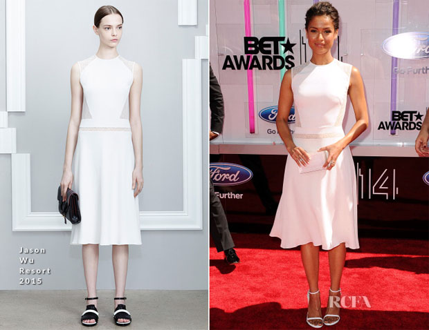 Gugu Mbatha-Raw In Jason Wu - 2014 BET Awards