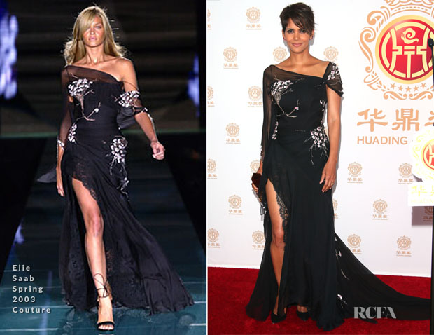 Halle Berry In Elie Saab Couture - 2014 Huading Film Awards