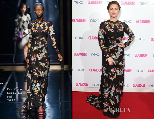 Hayley Atwell In Ermanno Scervino - Glamour Women Of The Year Awards