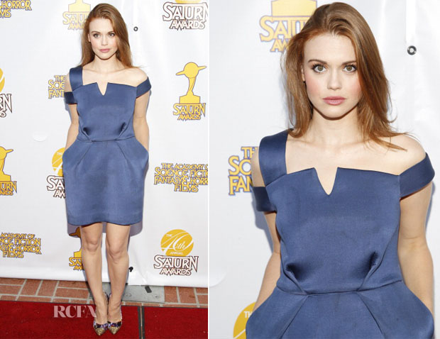 Holland Roden In Paper London -  40th Annual Saturn Awards